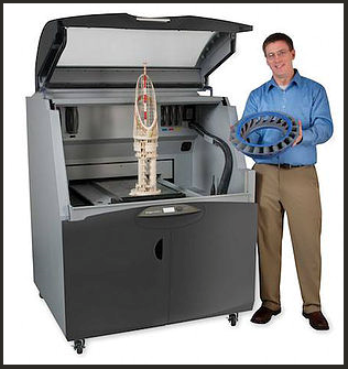 Impression 3D de pièce industrielle